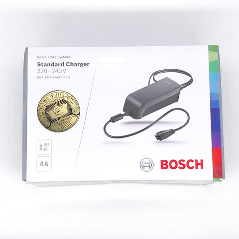 E-BIKE Bosch Standard Charger 5 Pins 36V 4A with plug EU for Bosch Performance and Active Line