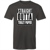 Straight Outta Toilet Paper T-shirt - Straight Outta Compton Panic Buying Essentials TP rolls Covid-19