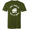 Stop COVID-19, Stay at Home T-shirt