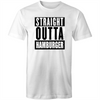 Straight Outta Hamburger T-Shirt Straight Outta Compton Panic Buying Food Covid-19