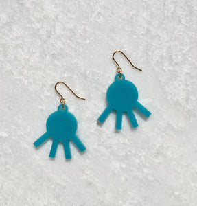 Remi Drop Earrings in Turquoise
