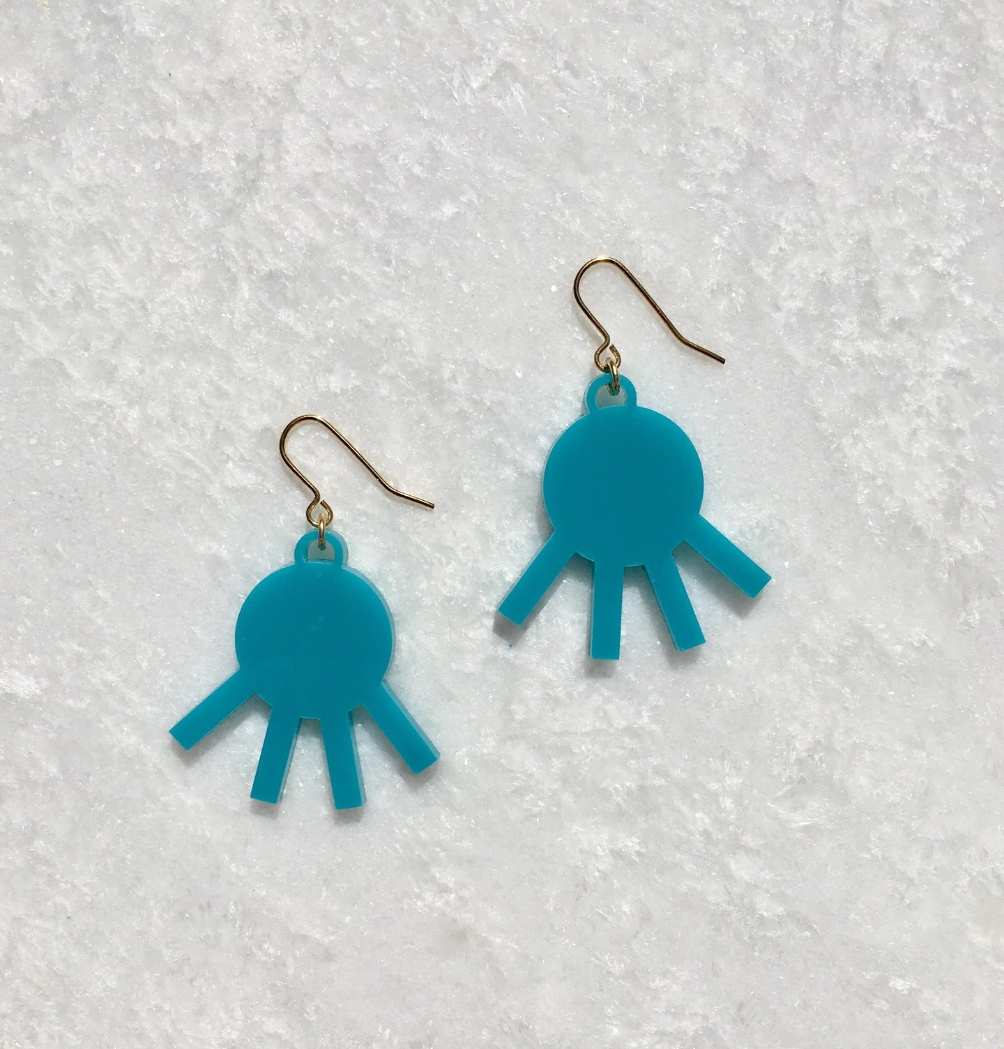 Remi Drop Earrings in Turquoise - hall-wade