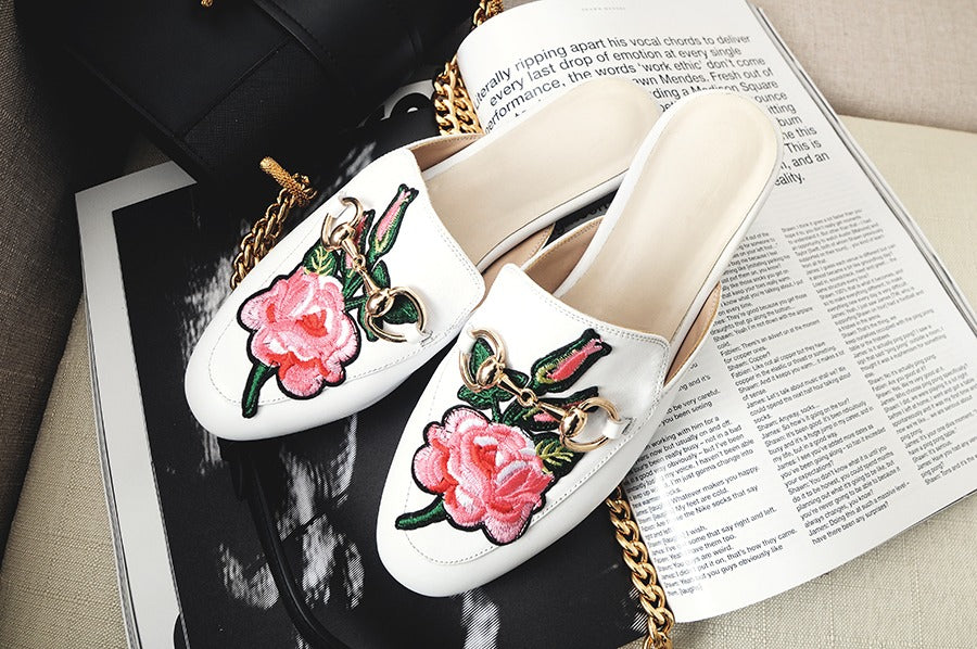 HOW TO STYLE EMBROIDERED SHOES