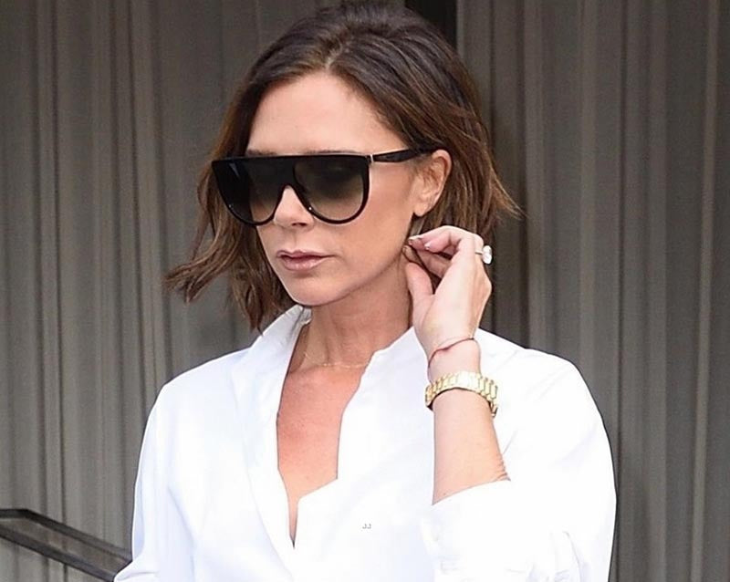 VICTORIA BECKHAM TOOK HER SPRING 2018 DESIGNS FOR A TEST DRIVE