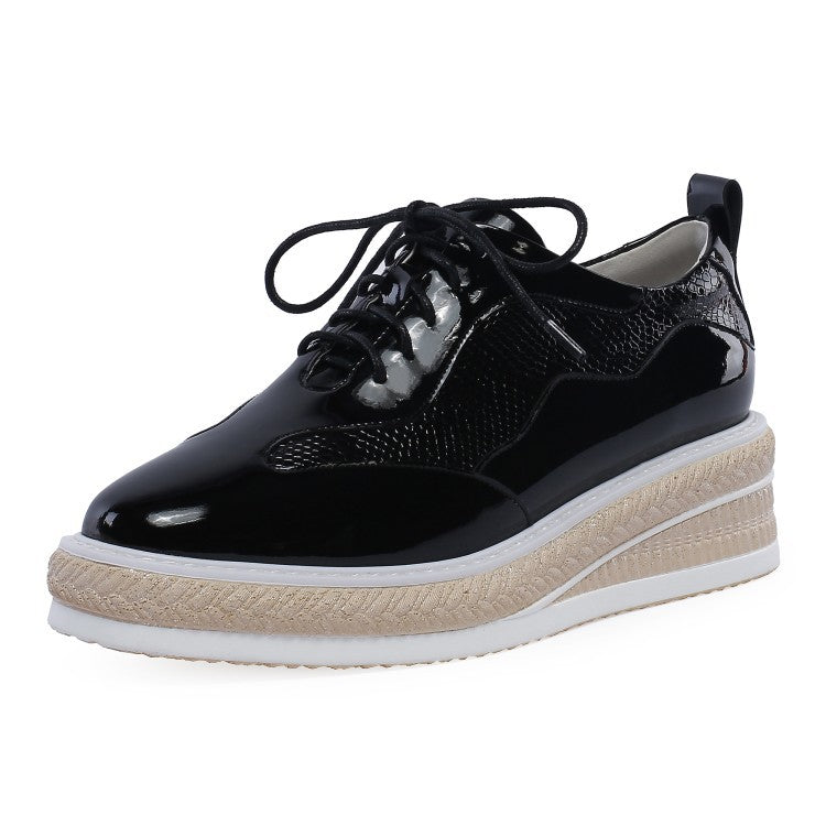 Ramisu Daily Microfiber fabric Lace-up Sneakers