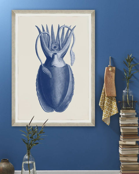 Cuttlefish Blue Print by SEBA - Mind the Gap