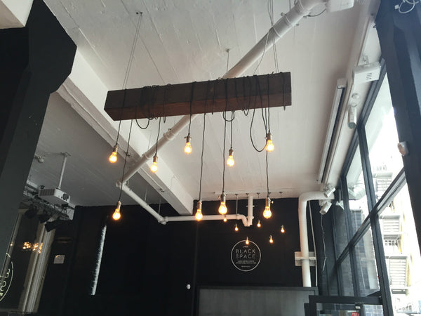 Industville Lighting at Lynx Black Space Shoreditch