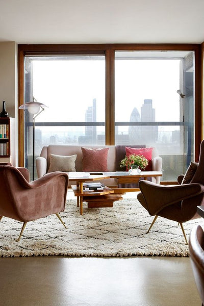 Pinterest Interiors Awards UK - Mid-century modern flat in the Barbican – Winners: House & Garden / Maria Speake of Retrouvius