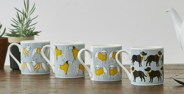 Graduate Collection Dog Mugs at Lime Lace