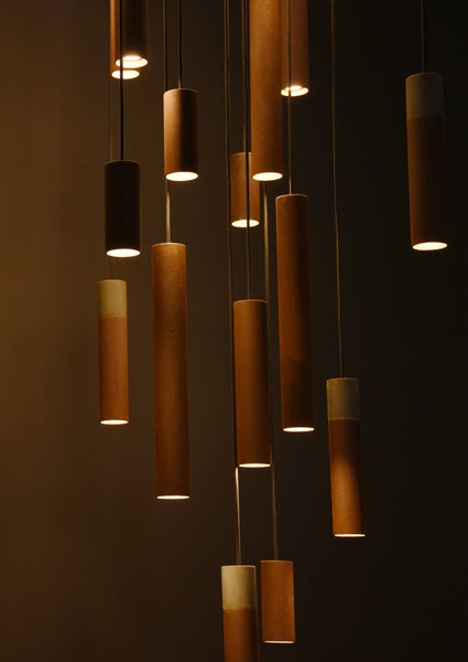 Roest Vertical Pendant Light by Karven