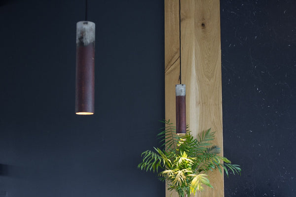 Roest Vertical Zinc Pendant Light
