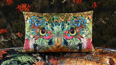 Boudoir Cushion by Santorus - Madness