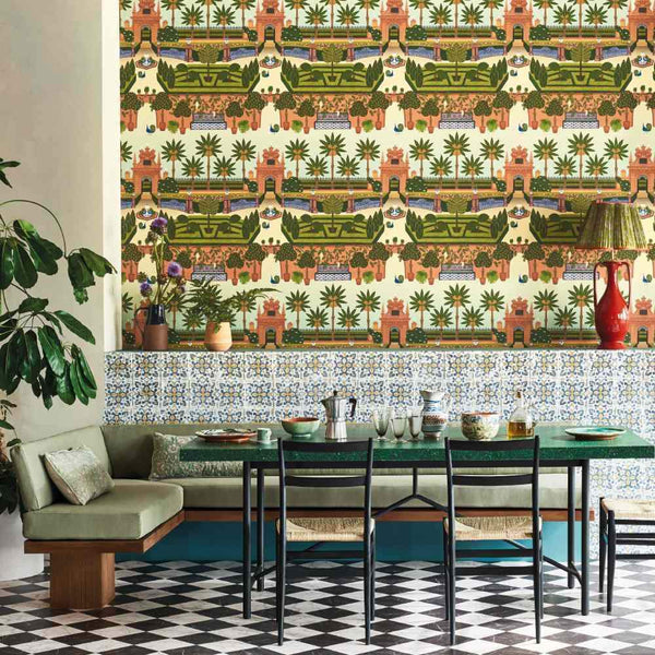 Alcazar Gardens Wallpaper - Cole & Son Seville Collection