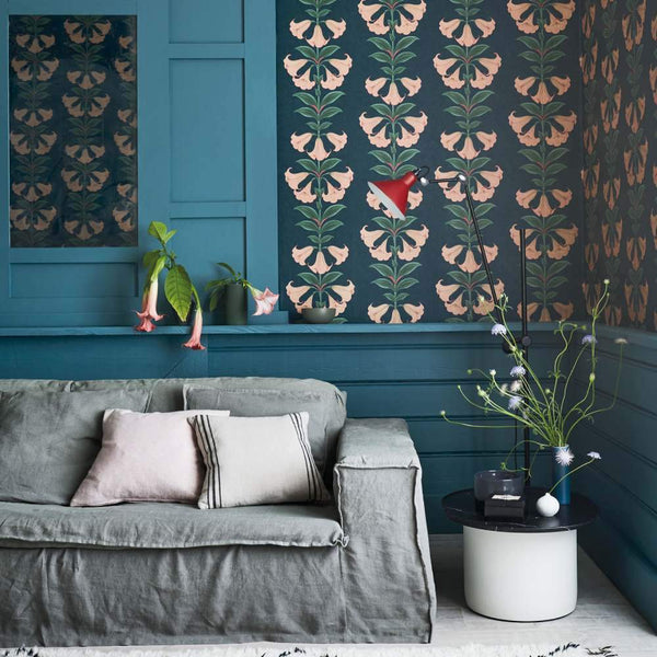 Angels Trumpet Wallpaper - Seville Collection - Cole & Son