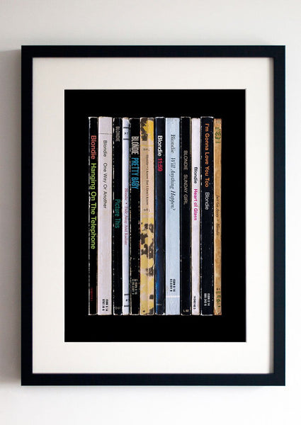 Blondie - Parallel Lines Album as Books Print