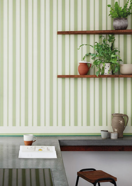 Cambridge Stripe Wallpaper by Cole & Son