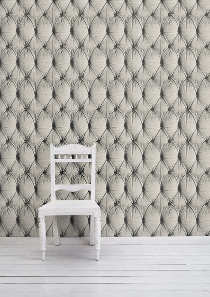 Chesterfield Button Back Wallpaper