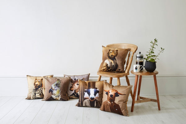 Tiger Cushion by Graduate Collection