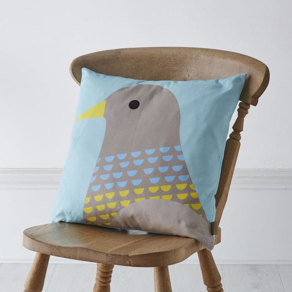 Graduate Collection - Pigeon Cushion - Lime Lace Interiors