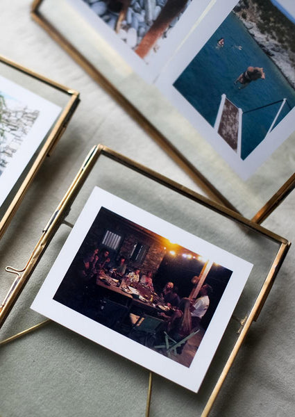 Nidda Antique Brass Photo Frame