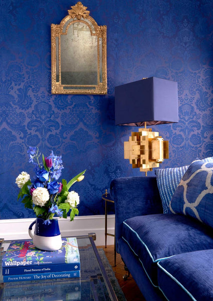 Petrouchka Wallpaper By Cole & Son - Mariinsky Damask