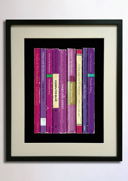 Album as Books Print - Prince Purple Rain