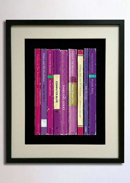 Prince - Purple Rain Album as Books Print