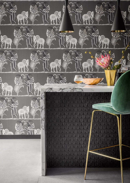 Safari Dance Wallpaper - Cole & Son