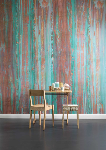 Spoiled Copper Wallpaper By Piet Hein Eek @ NLXL