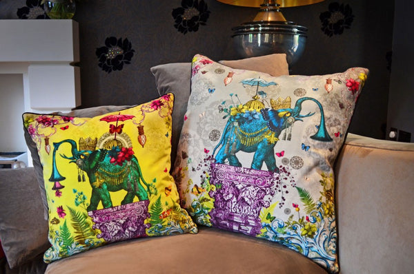 The Other Orient Cushion by Santorus London