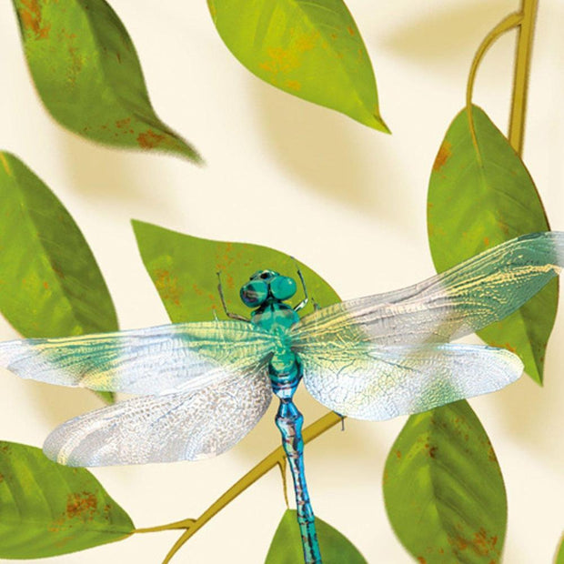 A Thousand Leaves Wallpaper- Light by Carmine Lake close up dragonfly