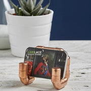 Copper Pipe Business Card Holder