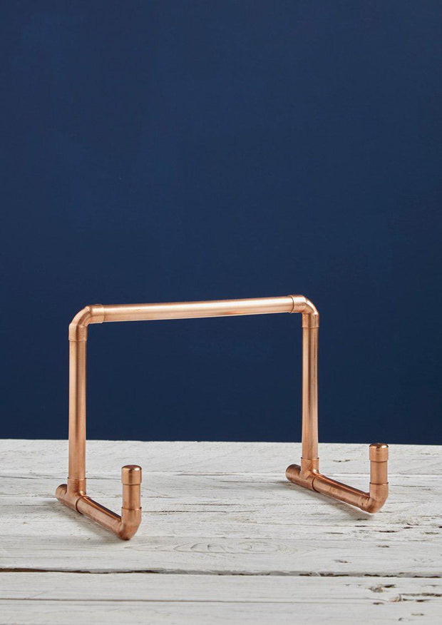 Copper Pipe Ipad Stand / Book Rest-Lime Lace-Lime Lace