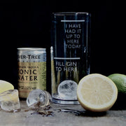 Fill Gin to Here Glass