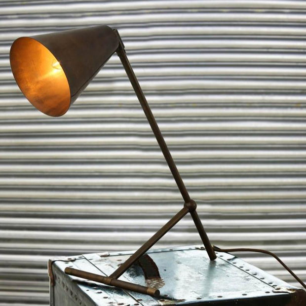 Havana Modern Industrial Table Lamp - Mullan Lighting