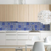 KitchenWalls Wallpaper Splashback - Italy-Lime Lace