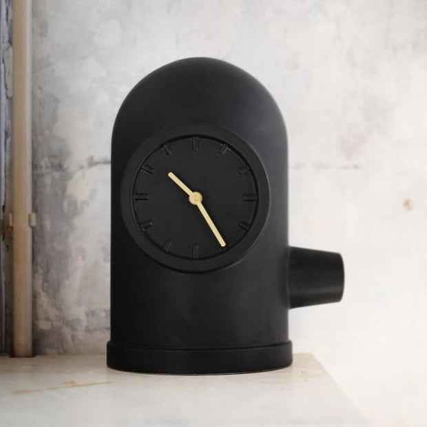 LEFF amsterdam Base Clock - Matt Black