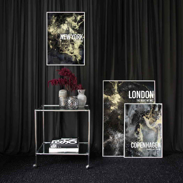London, New York & Copenhagen Prints