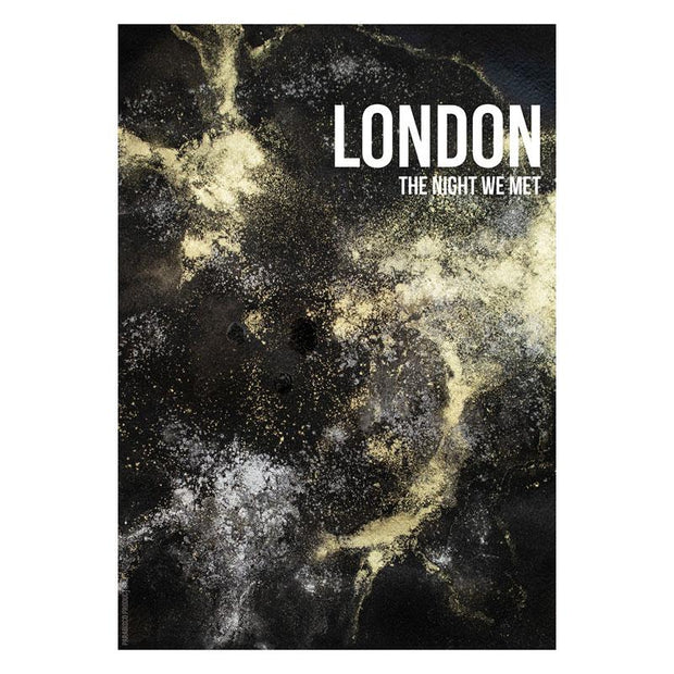 London Night Framed Print - Paradisco Productions