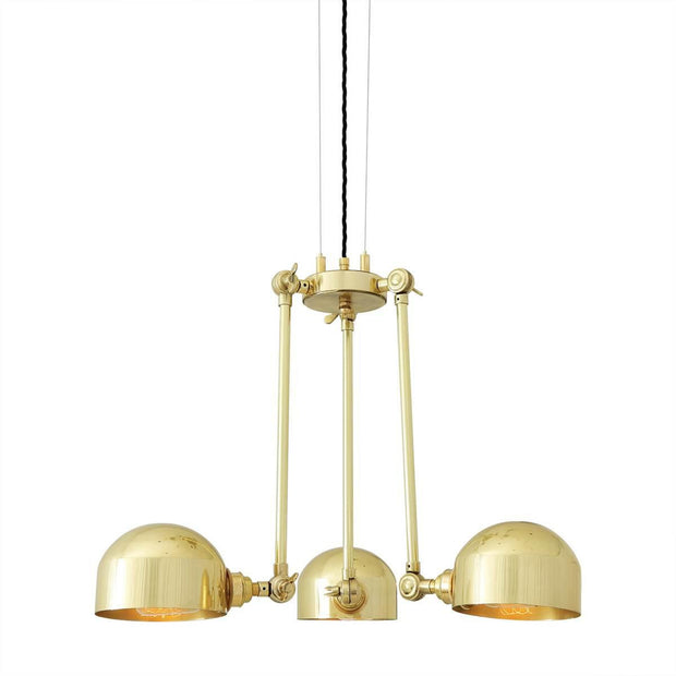 Neiva Quirky Chandelier - Mullan Lighting-Lime Lace