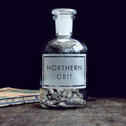 Northern Grit Etched Bottle-[vinegar & brown paper]-Lime Lace