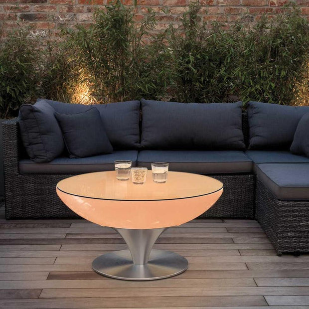 Outdoor Lounge 45 Light up Table - Moree-Lime Lace