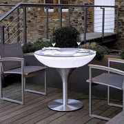 Outdoor Lounge 75 Light up Table - Moree-Lime Lace