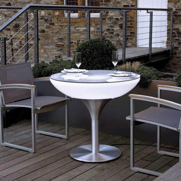 Outdoor Lounge 75 Light up Table - Moree
