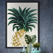 Pineapple Sweet Framed Wall Art by MINDTHEGAP-MINDTHEGAP-Lime Lace