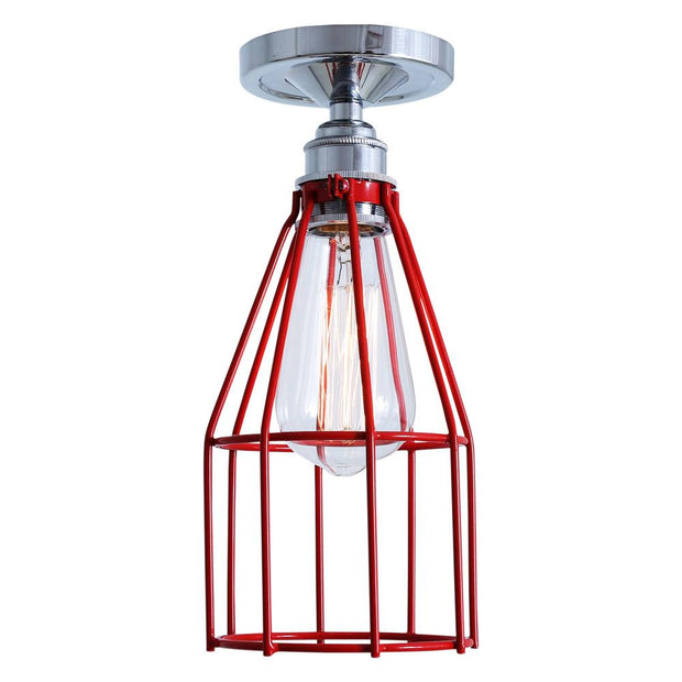 Raze Flush Cage Light - Mullan Lighting