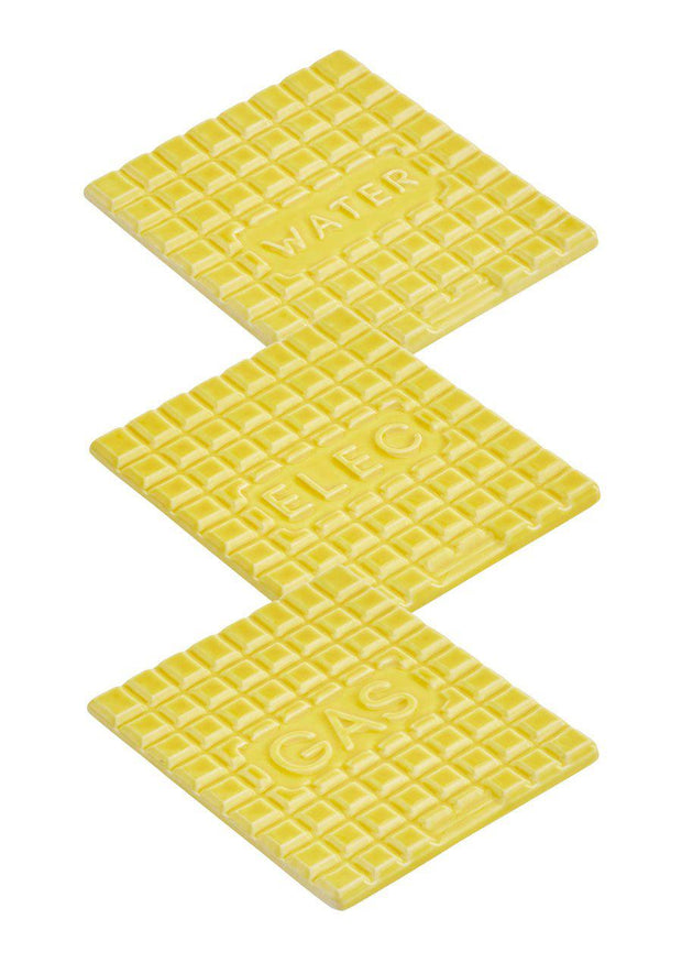 Yellow Manhole Coaster Set - Stolen Form