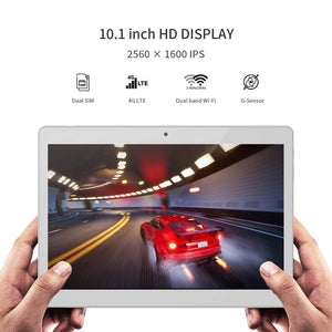 "ALLDOCUBE M5X Android 8.0 Dual 4G LTE Tablet (10.1"" 2560*1600 IPS Display, 4GB RAM, 64GB ROM, 10-core MTK X27 CPU, 2.0MP & 5.0MP Camera, GPS)"