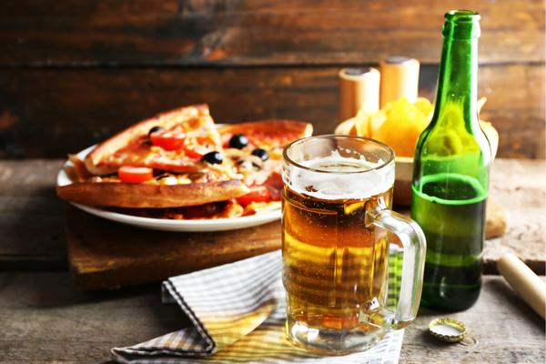 Group - Beer & Pizza  €29.95