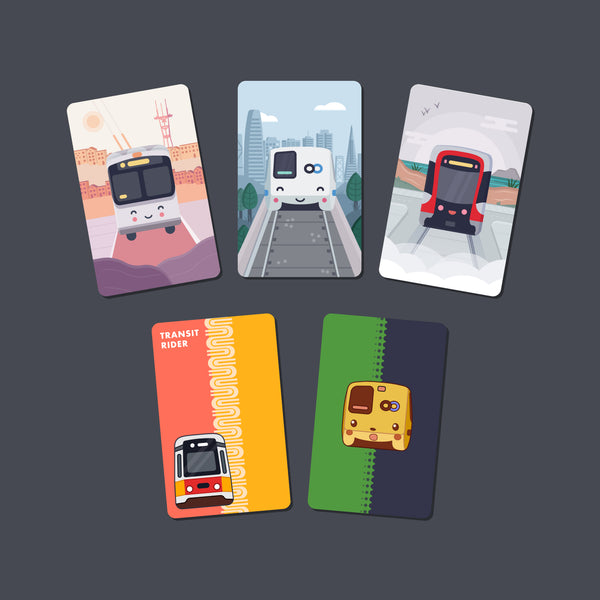 Transit Card Stickers